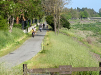 The 6-mile group along the Alameda Creek Trail