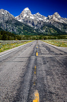 The Road to the Grand Tetons.