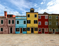 Colorful Buildings of Burano